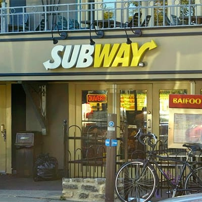 Subway, Quebec city