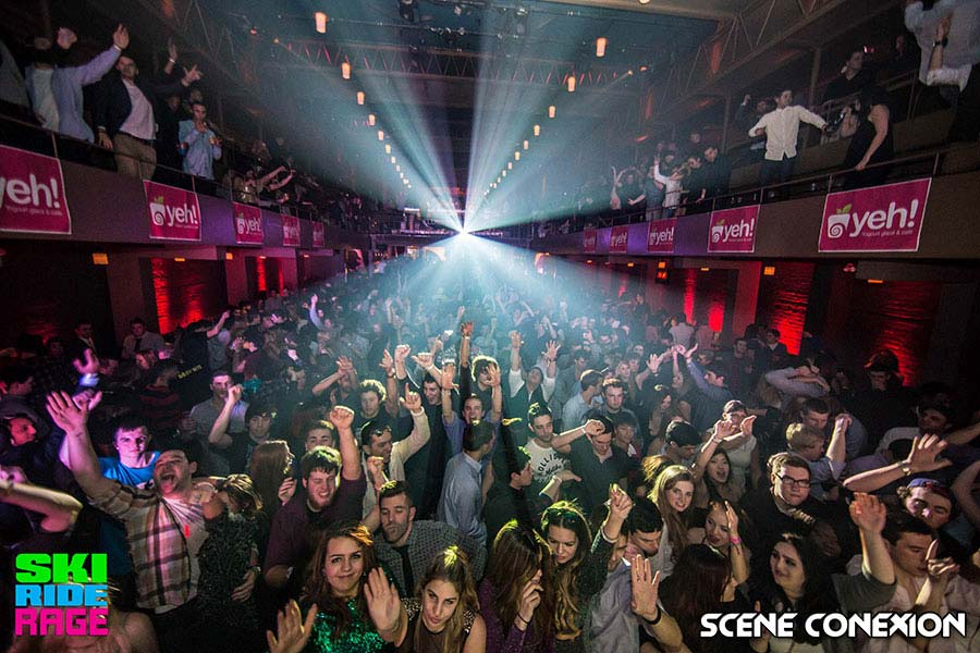 Montreal Club crowd
